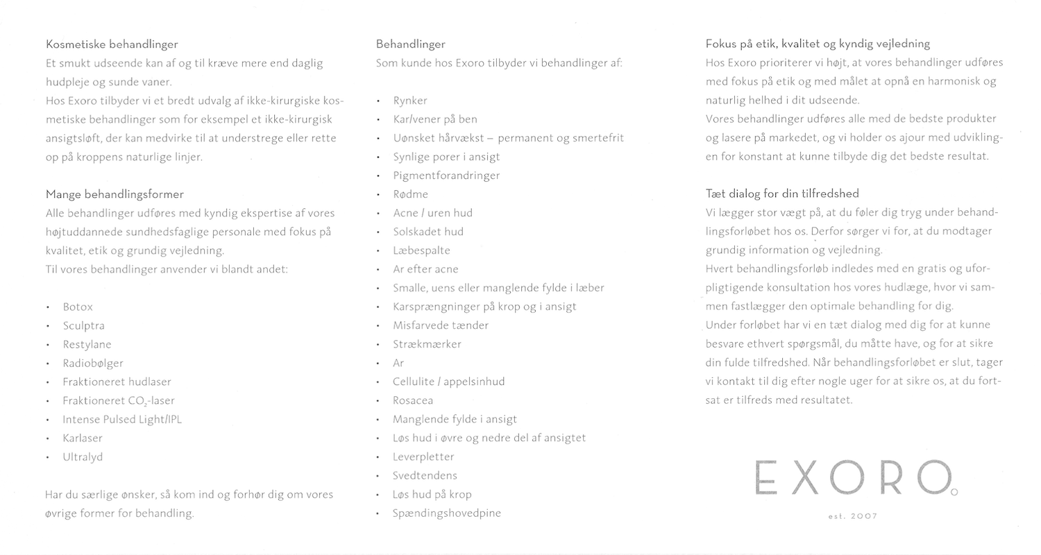 Exoro brochure side 2