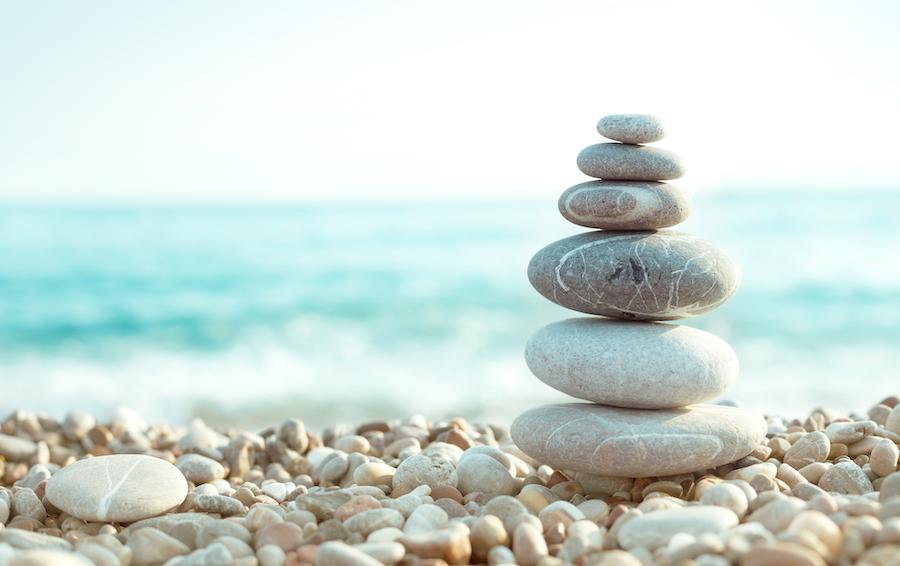 skab balance i konceptet